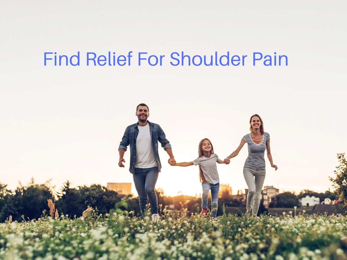 Find Relief For Shoulder Pain
