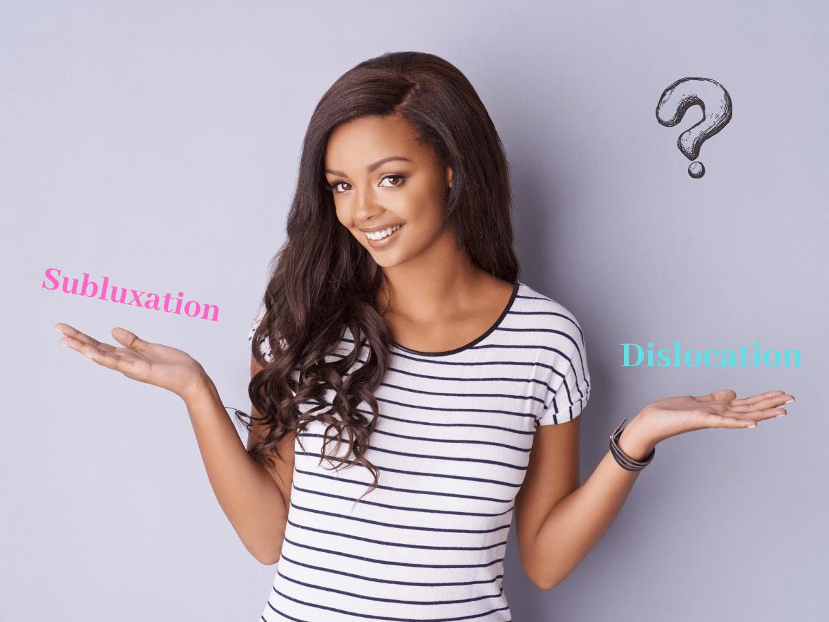 subluxation vs dislocation